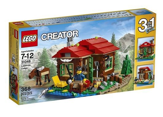 LEGO Creator 3-in-1 Lakeside Lodge Only $19.19