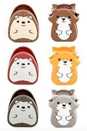 Kikkerland Set of 6 Woodlands Bag Clips Only $3.99