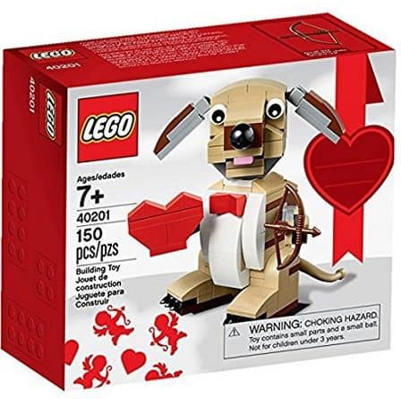 LEGO Valentines Cupid Dog Building Kit Only $9.99 **Available Again**