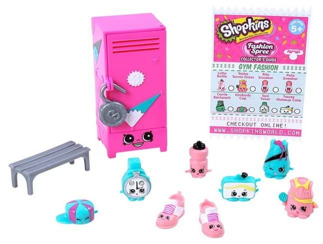 Shopkins Fashion Gym Fashion Collection Only $3.97 (Was $15)