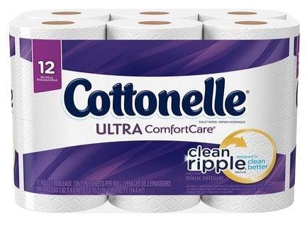 12 Pack of Cottonelle Bath Tissue $3.74 (Was $10)