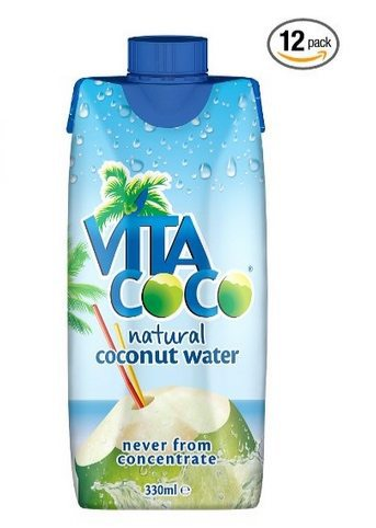 Vita Coco 100% Pure Coconut Water (Pack of 12) $9.99