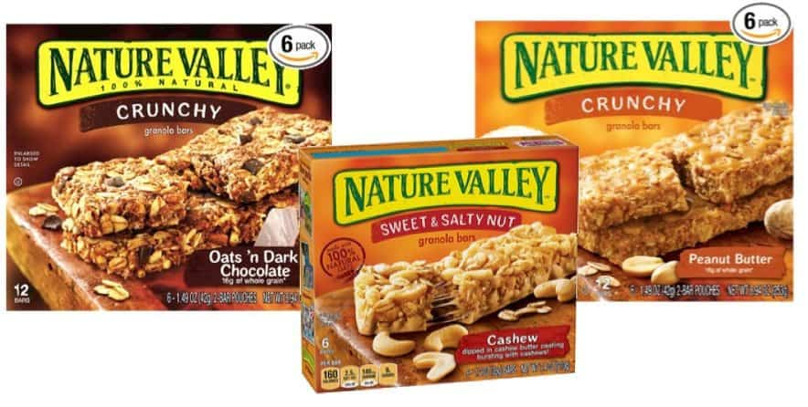 HOT Nature Valley Coupon ~ Nature Valley Crunchy Granola Bars as low as $1.70 Per Box Shipped