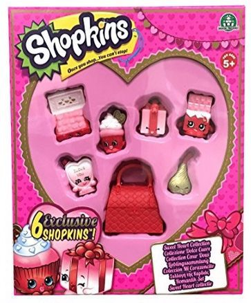 Shopkins Sweetheart Collection Only $9.88