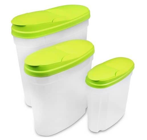3-Piece Food Storage Container Set Only $7.99 <br>(Was $30)