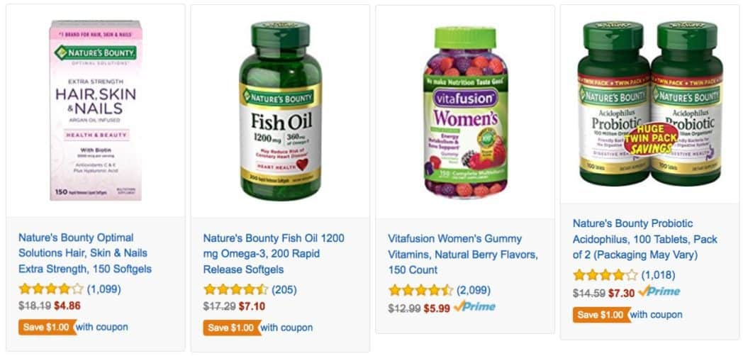 Up to 70% Off Men's, Women's, and Kids Vitamins and Supplements **Today Only**