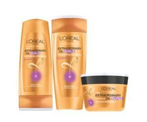 Free 3-Piece L'Oreal Hair Care Sample Pack