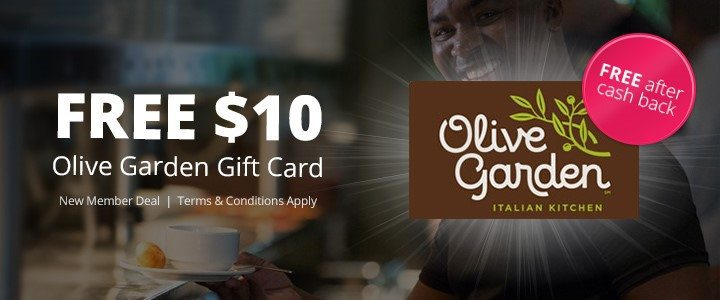 Free 10 Olive Garden Gift Card After Rebate Swaggrabber