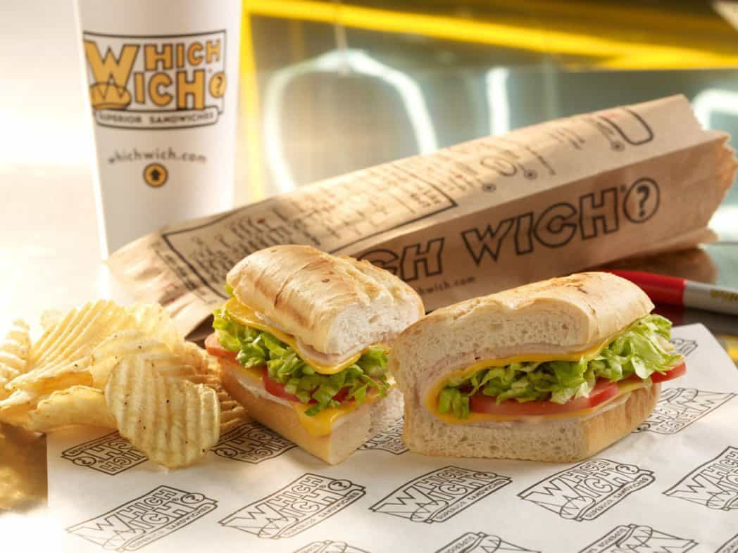 $5 off Any $5 Which Wich Sandwich