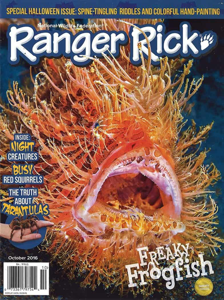 Subscription to Ranger Rick Only $11.99