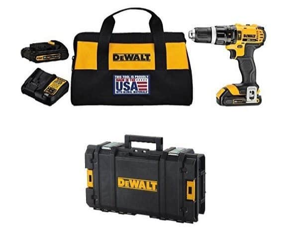 DEWALT 20V MAX Lithium-Ion Hammer Drill/Driver Kit $149.99 (Was $240) **Today Only**