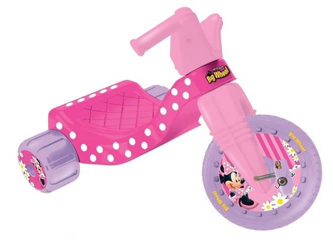 Disney Big Wheel Junior Racer Minnie Mouse Ride On Only $15