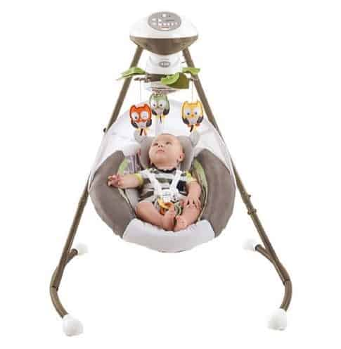Fisher-Price My Little Snugabear Cradle 'N Swing $69.88 (Was $104.97)