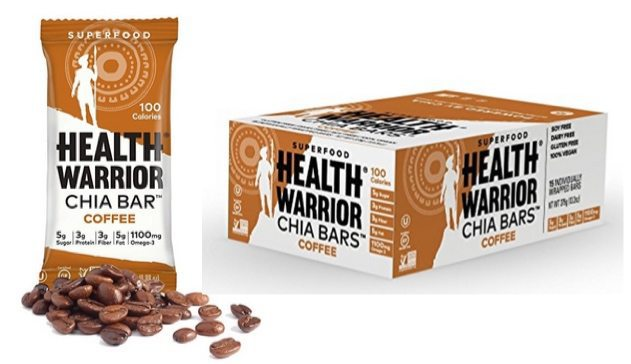 Health Warrior Chia Bars Coffee 15-Pack $8.70 Shipped **Only 58¢ Per Bar**