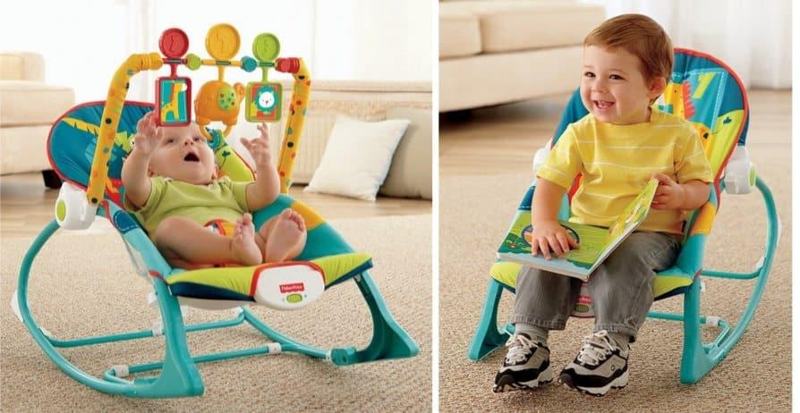 Fisher-Price Infant-to-Toddler Rocker $24.88