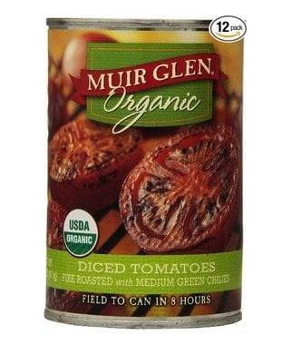 12-Pack Muir Glen Organic Diced Tomatoes Cans Only $7.20 Shipped