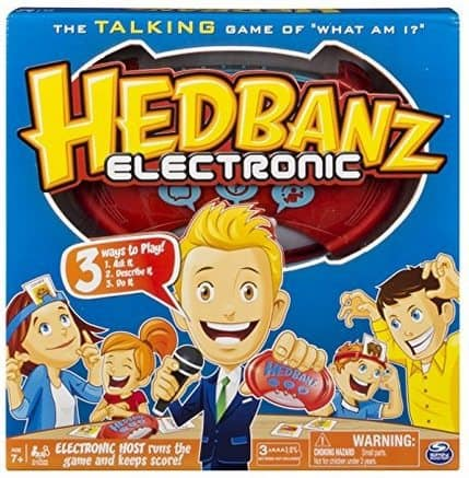 Hedbanz Electronic Card Game $6.60 (Was $20)