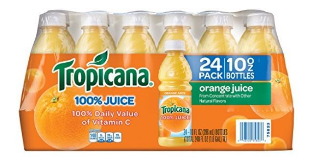 24-Pack Tropicana Orange Juice $10.44 Shipped **Only 43¢ Each**