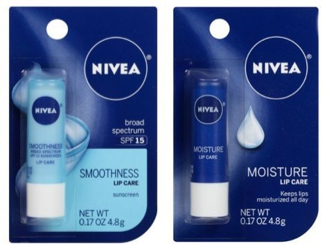 NIVEA Lip Care 25% Off Coupon ~ Tubes Only $1.50 Each Shipped
