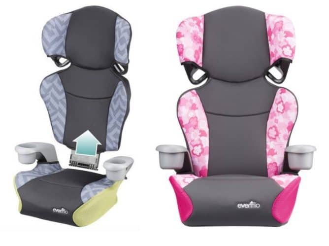 Evenflo Big Kid Sport High Back Booster Seat $22.88 (Was $59.97)