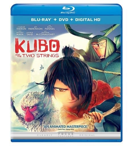 Kubo and the Two Strings Blu-ray Combo Only $9.99 (Was $22.98)