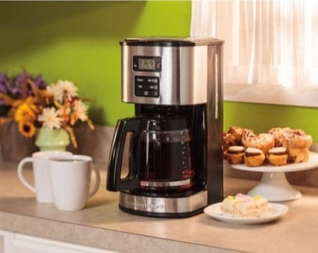 Hamilton Beach 12-Cup Programmable Coffeemaker Only $19 (Was $40)