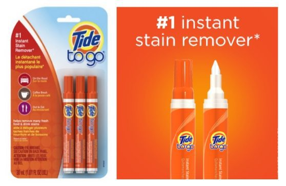 Tide To Go Instant Stain Remover Liquid Pen 3-Count Only $3.95 Shipped **$1.32 Each**
