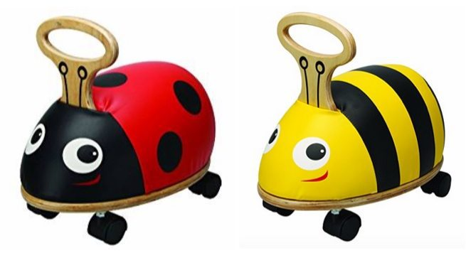 Skipper Ride 'n' Roll Bee & Ladybug Ride On Toys <br>Only $24.98