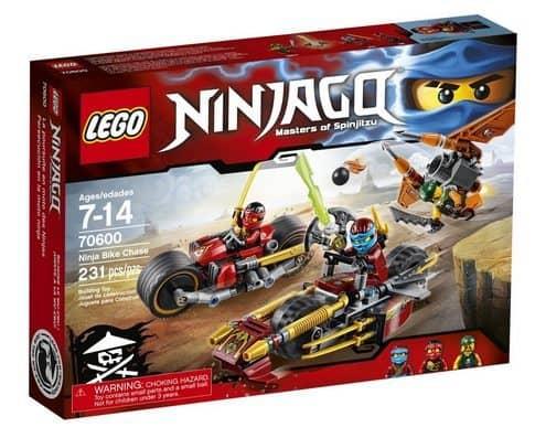 LEGO Ninjago Ninja Bike Chase Only $13.90