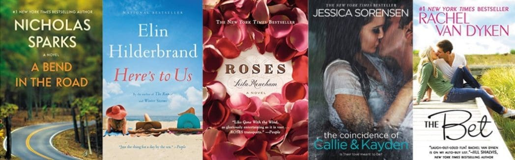 Up to 88% Off New York Times Bestseller Romances on Kindle **Today Only**