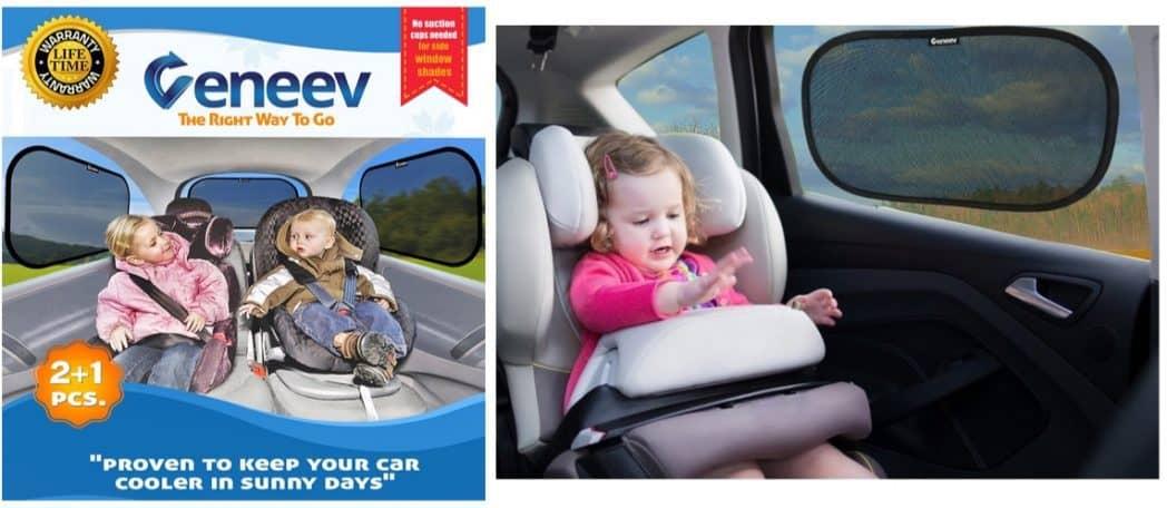 Veneev Car Sun Shades 3-Pack Only $11.91