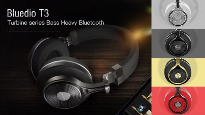Bluedio T3 Bluetooth 4.1 Stereo Headphones $29.99 (Was $80) **Today Only**