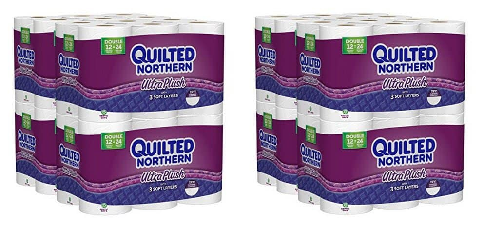 Quilted Northern Ultra Plush Double Rolls Toilet Paper 48 Count for $18.18 **SUPER HOT**