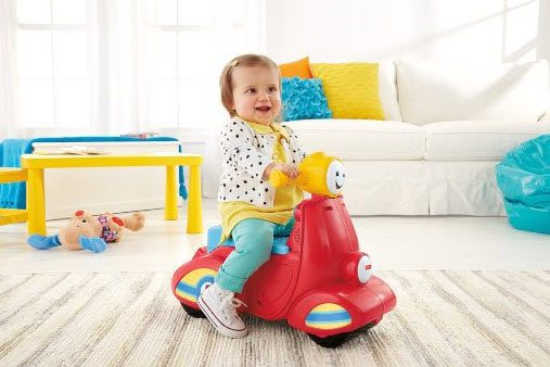 Fisher-Price Laugh & Learn Smart Stages Scooter $12.48 (Was $30)