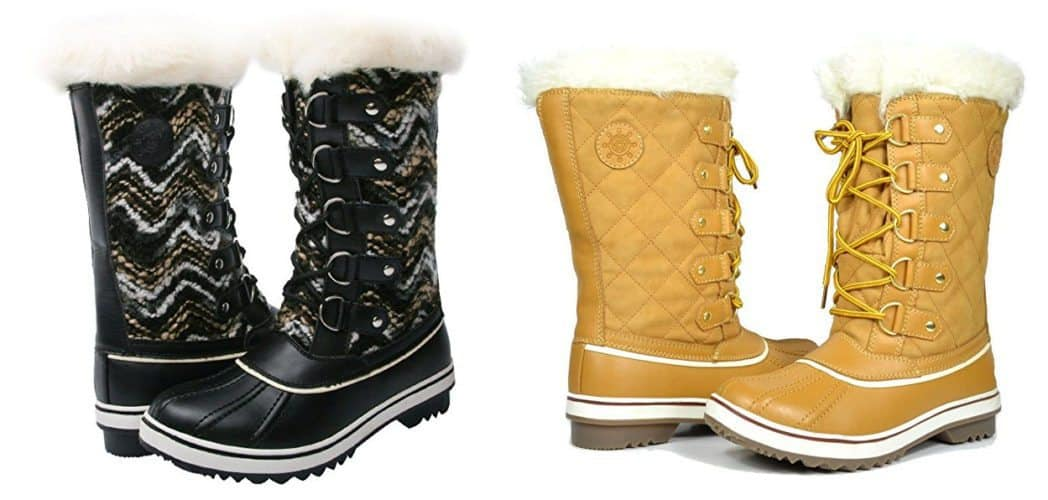 GW Women's Water Proof Snow Boots Only $14.99 **HOT**
