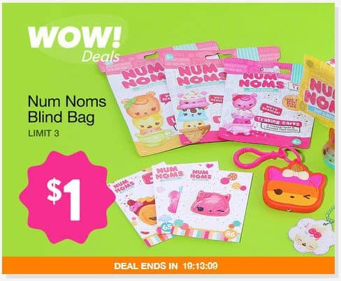 Num Noms Blind Bags Only $1.00 **TODAY ONLY**