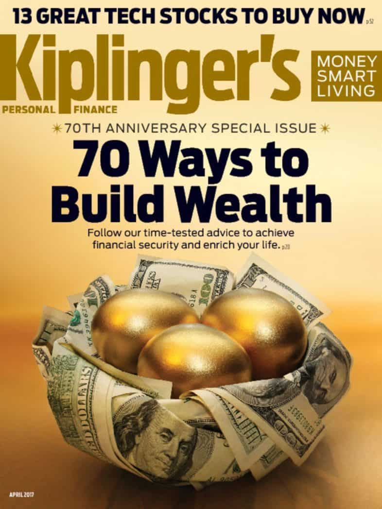 Subscription to Kiplinger's Personal Finance $6.99 ~ Today Only!