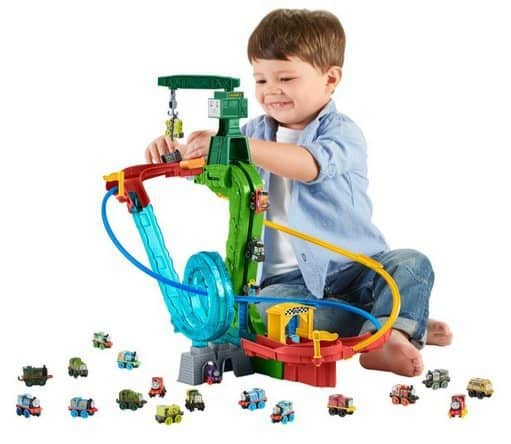 Fisher-Price Thomas & Friends MINIS Motorized Raceway Only $20