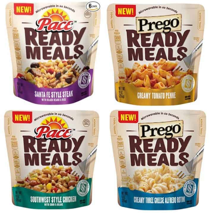 Pace And Prego Ready Meals 6 Pack 8 15 Shipped Only 1