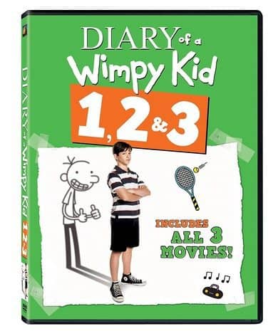 The Diary of a Wimpy Kid 1, 2 & 3 DVD Only $8.99