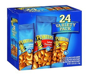 Planters Nut 24 Count Variety Pack Only $6.83 <br>**28¢ each shipped**