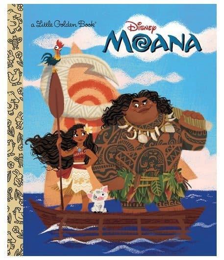 Moana Little Golden Book Only $2.10