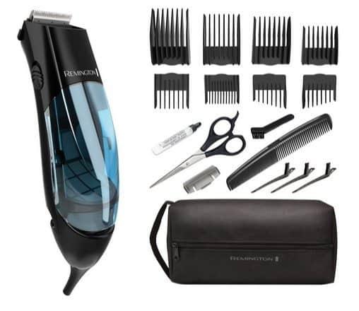 Remington Vacuum 18-Piece Haircut Kit Only $25.83