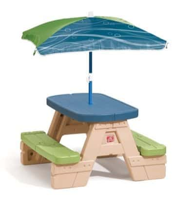 Step2 Sit and Play Picnic Table with Umbrella $39.99