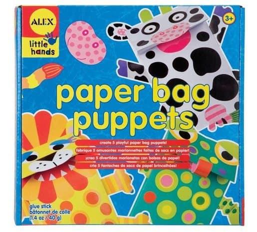 ALEX Toys Little Hands Paper Bag Puppets Only $5.40