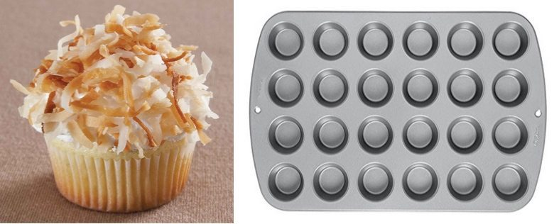 Wilton Recipe Right 24 Cup Mini Muffin Pan Only $7.67