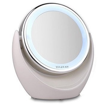 Wireless 7x Magnifying LED Makeup Vanity Mirror Only $14.99