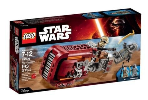 LEGO Star Wars Rey's Speeder Building Kit $11.64