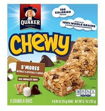12 Quaker Chewy Granola Bars Boxes Only $17.88 Shipped **$1.49 Per 8-Count Box**