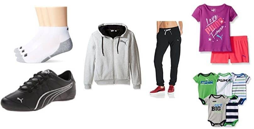 Up to 50% Off PUMA Athletic Shoes & Clothing **Today Only**